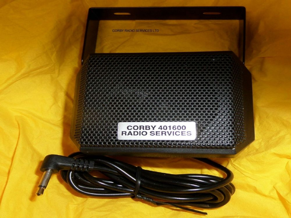 5 WATT LOUD SPEAKER EXTENSION SQUARE STURDY 1 7mts CABLE FOR HGV CB TAXI 201